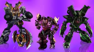 Decepticon trio