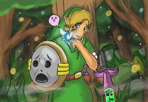 The Reunion of Link and Navi by Jo-Onis