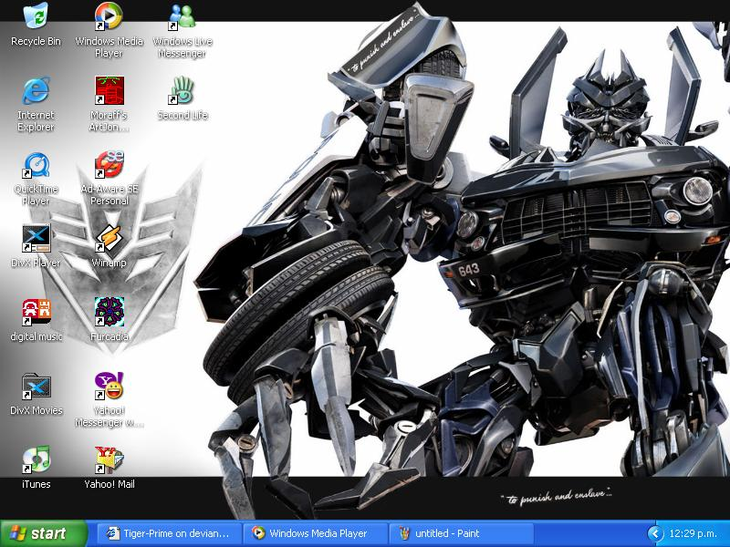 My New Desktop by Tiger-Prime