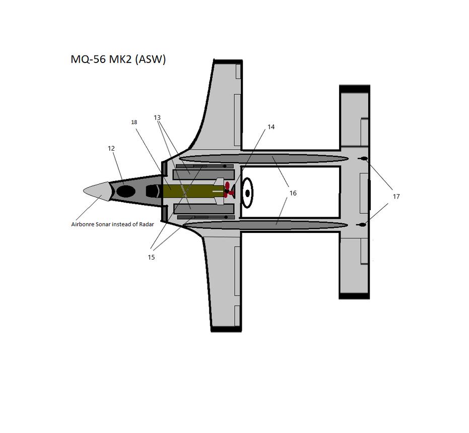 Concept Art: Skua Aquatic Scout Drone MK2 (ASW)