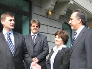 Estonian and Turkish diplomats