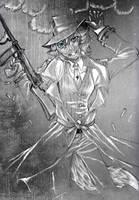 l'homme sous la pluie by prismchan