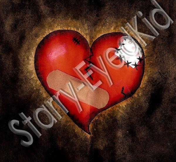 Broken Heart by starry-eyedkid