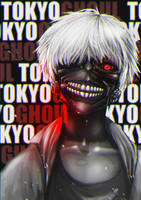 Tokyo Ghoul Ken Kaneki by MrFran02