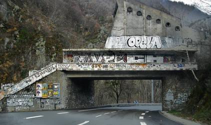 Graffiti Bridge by shepsoverthere
