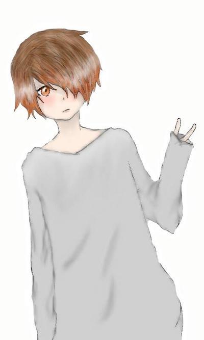 Random boy by IVictoriaArtsI