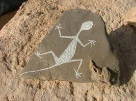 Lizzard Petroglyph