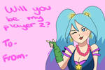 Be my player 2 - Arcade Sona by kittenlaurel