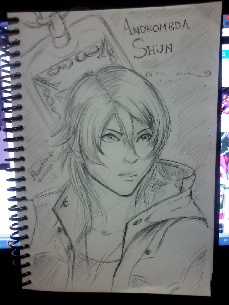 Shun - Legend of Sanctuary by SayuriChann