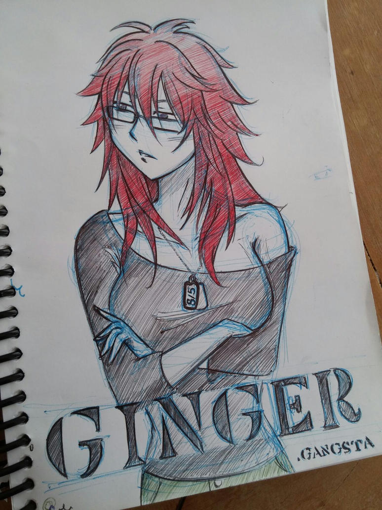 Ginger - Gangsta. by SayuriChann