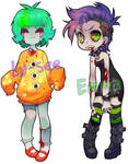 Zombie-gal Adoptables SOLD