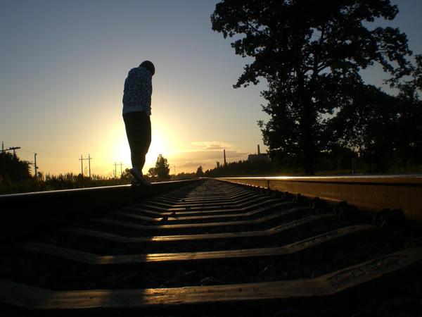 railroad never ends by vertiginousWind