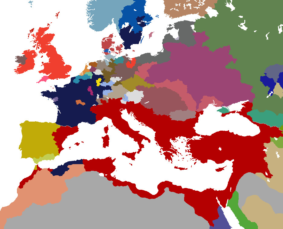 Europe 1500 Europa Universalis 3: Death and Taxes by ...