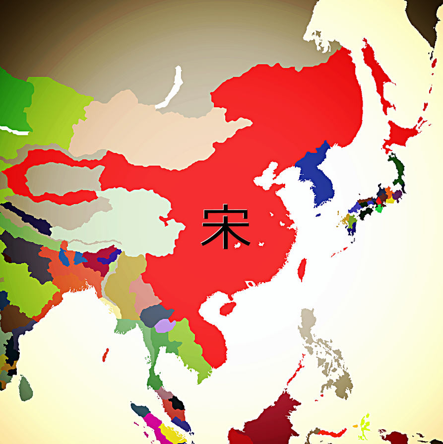 The Song Dynasty in 1445 by Claudius42 on DeviantArt