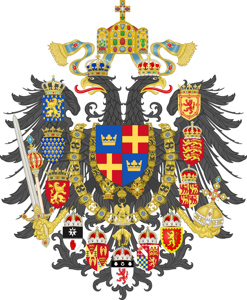 Wuffingas Imperial Arms of Franco-Britannia by Claudius42