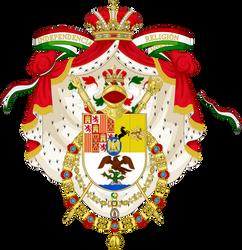 Escudo Imperial de Jose I de Bonaparte de Mexico by Claudius42