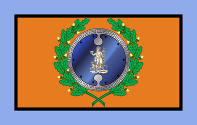 Flag of Boeotian League by Claudius42