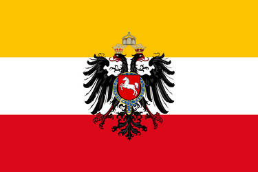 Hanoverian German Empire Flag by Claudius42