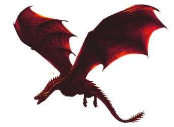 Caraxes the Bloodwyrm by Claudius42