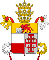 Coat of Arms of Pope Victor IV by Claudius42