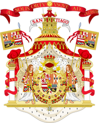 Royal Arms of The Borgian Iberian Monarchy by Claudius42
