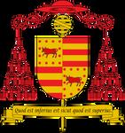 Cardinal Arms of Pierre d'Euse-Borgia