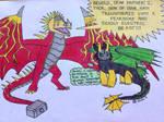 Thor and Loki as Dragons