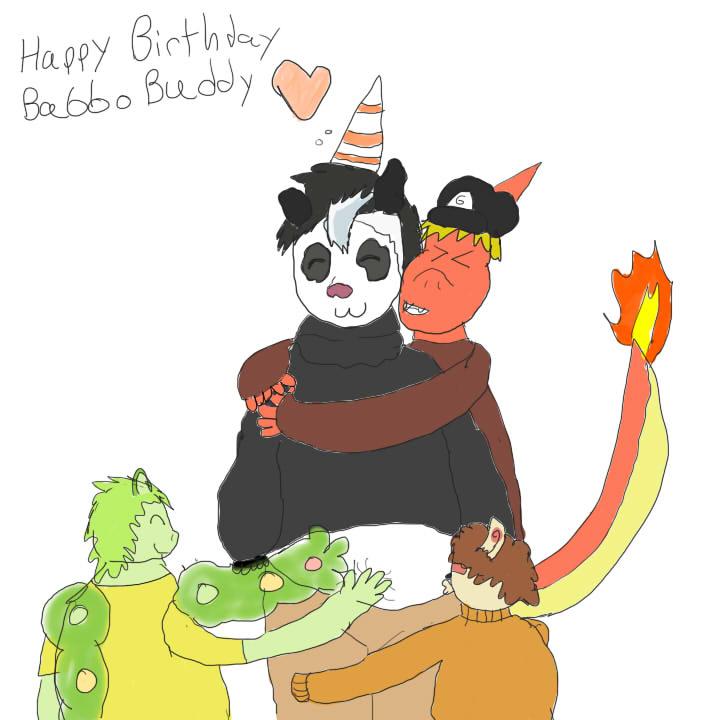 A Very Babboish Birthday by grantjoey45