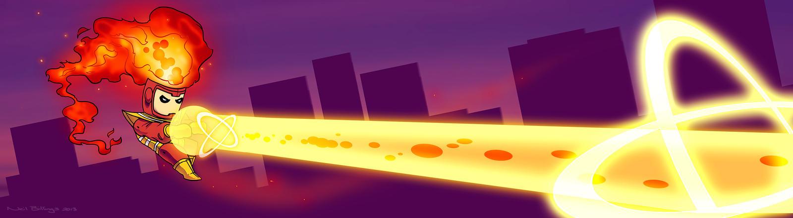 Firestorm, The Nuclear Man by Bladien