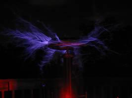 Tesla Coil Grad. Project - 2 by PlasmaFire3000