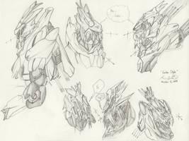 The Mecha Sketchbook - 15 by PlasmaFire3000