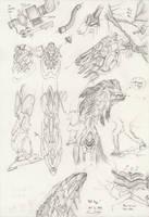The Mecha Sketchbook - 18 by PlasmaFire3000