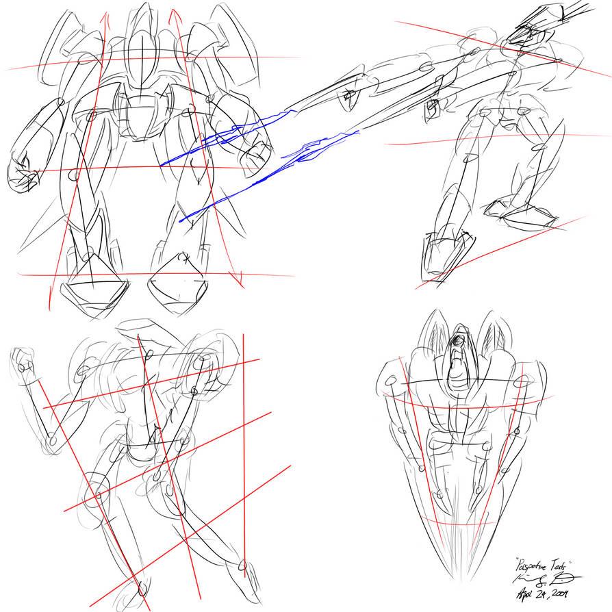 The Mecha Sketchbook - 19 by PlasmaFire3000