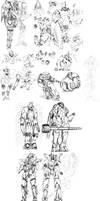 The Mecha Sketchbook - 25