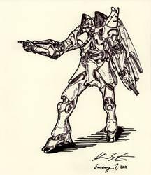 The Mecha Sketchbook - 27