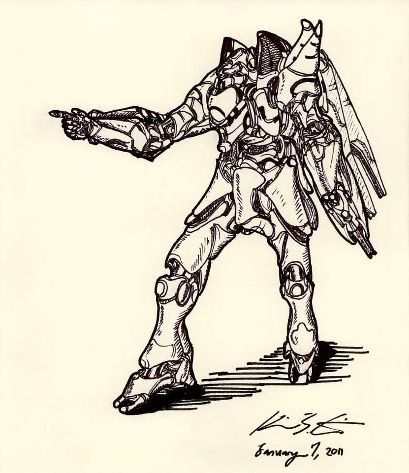 The Mecha Sketchbook - 27 by PlasmaFire3000
