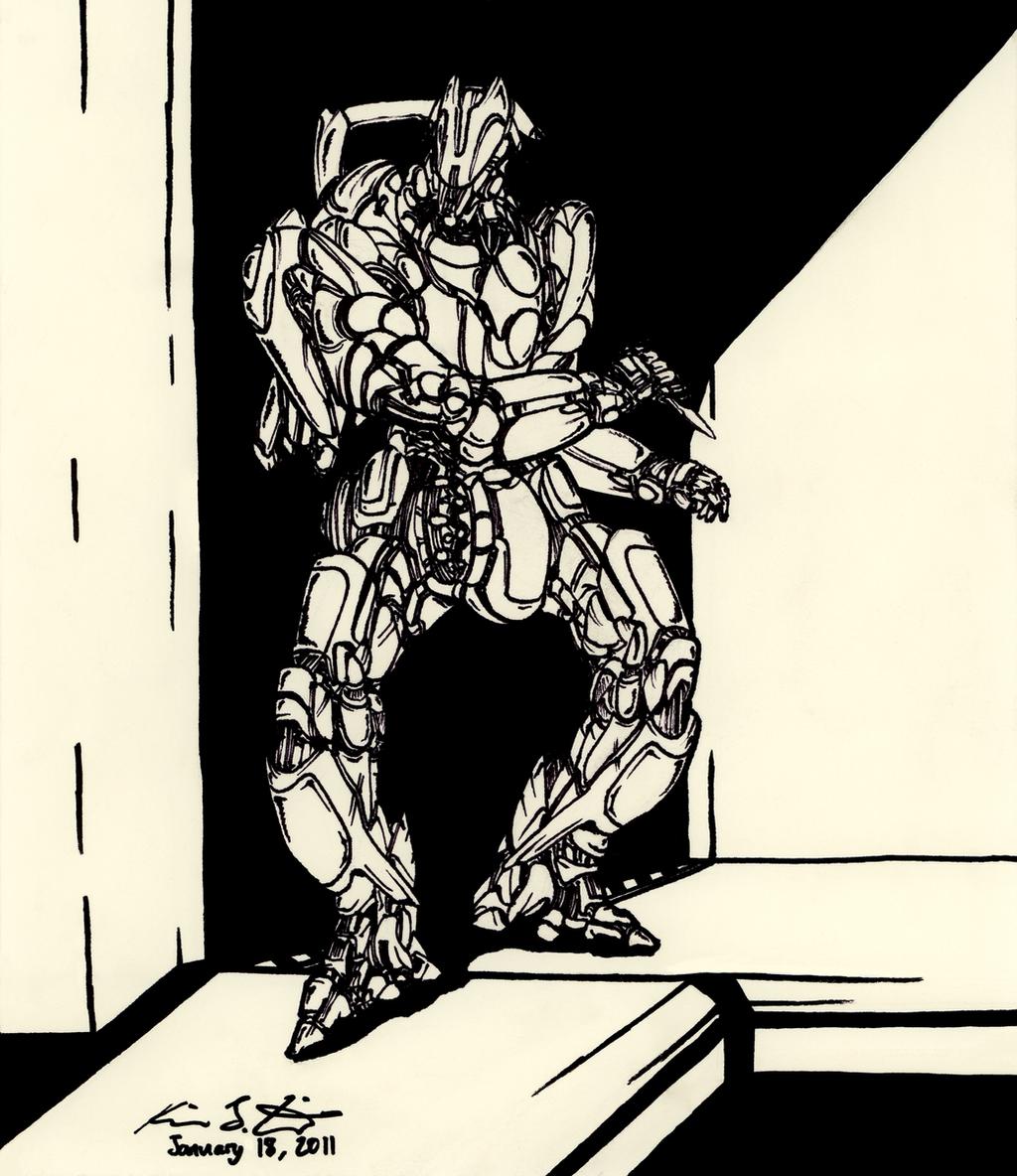 The Mecha Sketchbook - 29 by PlasmaFire3000