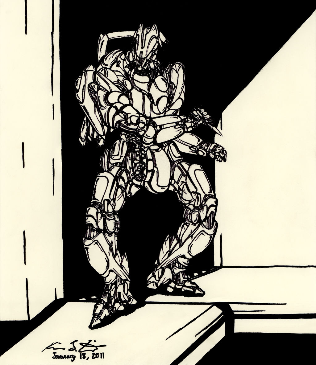 The Mecha Sketchbook - 29 by PlasmaFire3000