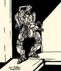 The Mecha Sketchbook - 29