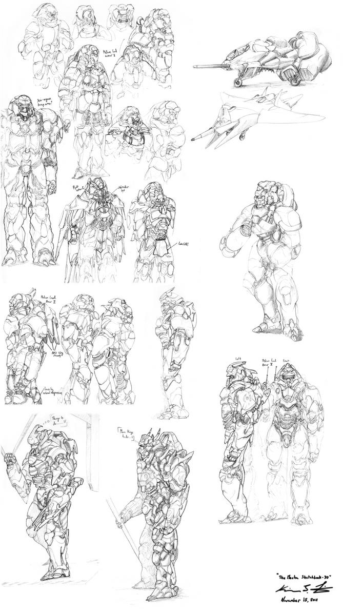 The Mecha Sketchbook - 30 by PlasmaFire3000