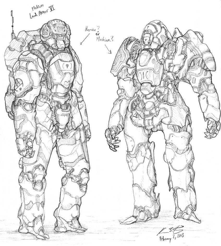 The Mecha Sketchbook - 31 by PlasmaFire3000