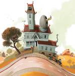 grandads house - exterior