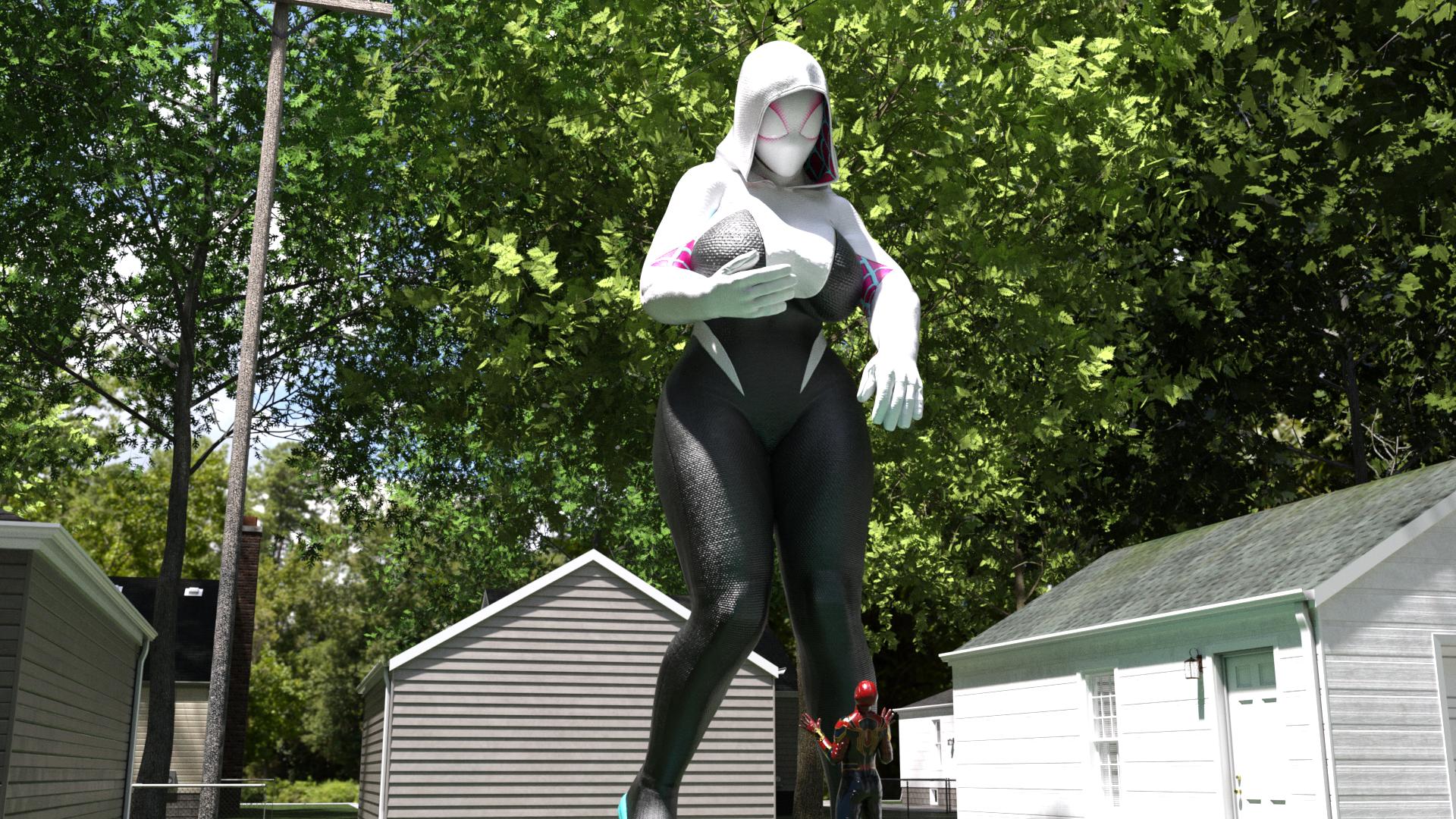 Spider-Gwen growing problem!