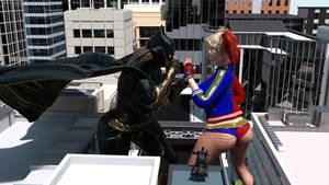 Giantess Girls fight