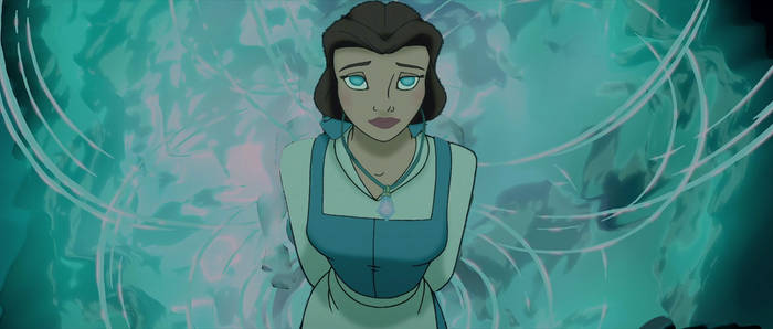 Belle is chosen to The Crystal Chamber (Atlantis)