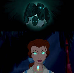 Belle is called to The Crystal Chamber. by Sci-fiAdventureFan