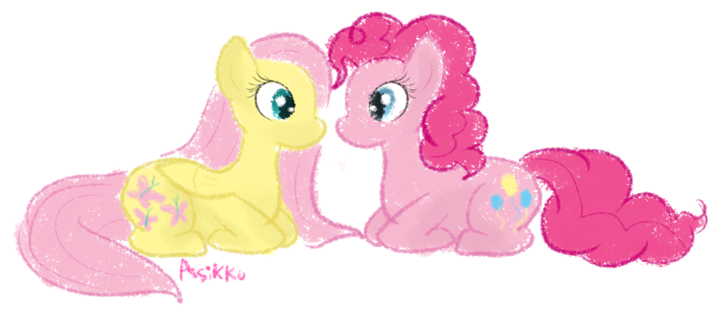 MLP and Soft Crayon by AsikkuFluttershy Suicide