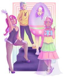 late easter celebration by Asikku