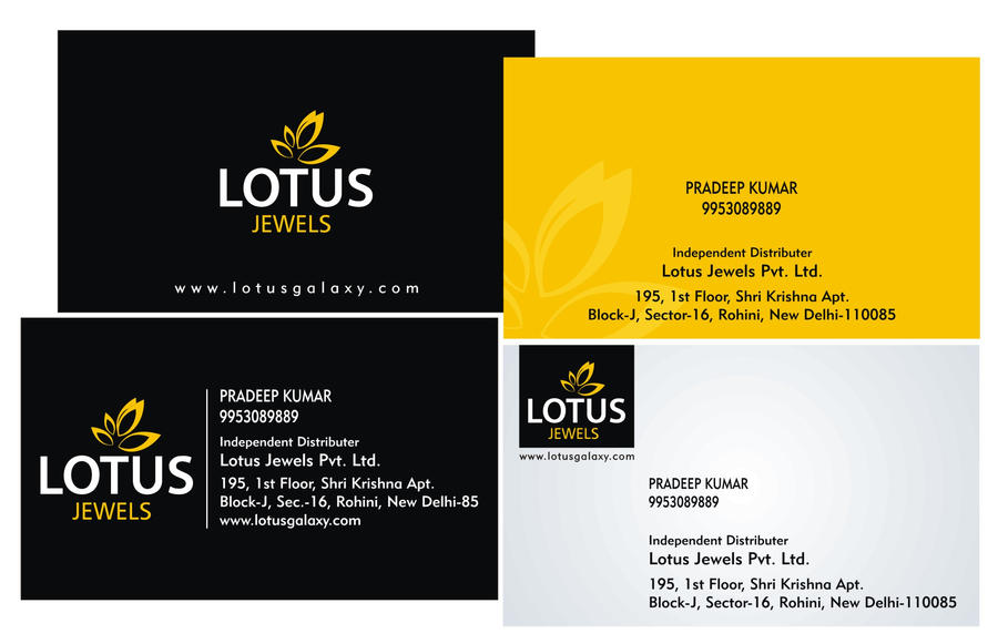 lotus jewels business card by vic-paul on DeviantArt