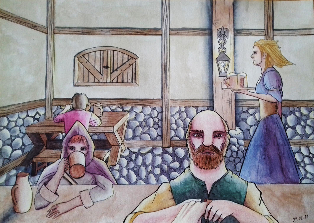 Tavern by theblacktalons